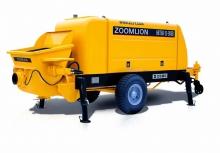 Трейлерные бетононасосы Zoomlion
